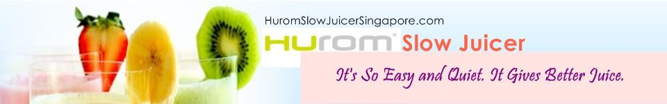 Hurom Slow Juicer Menu : Hurom Slow Juicer Singapore Hurom Slow Juicer